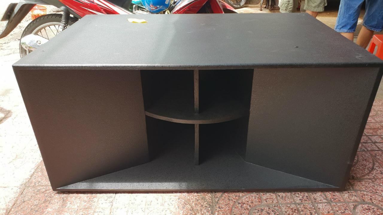 Vỏ thùng sub hầm đôi 5 tấc